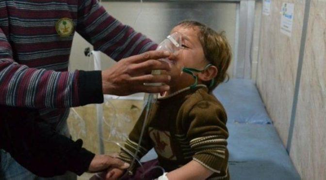 70 человек было убито во время химической атаки, которую предпринял сирийский режим в Дума