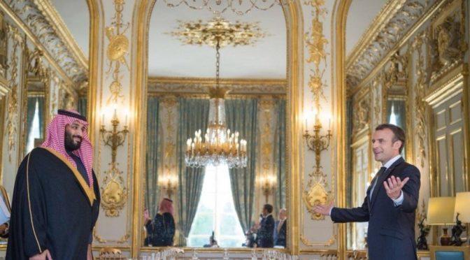 Наследный принц рассказал в Елисейском дворце о самом деструктивном проекте на Среднем Востоке