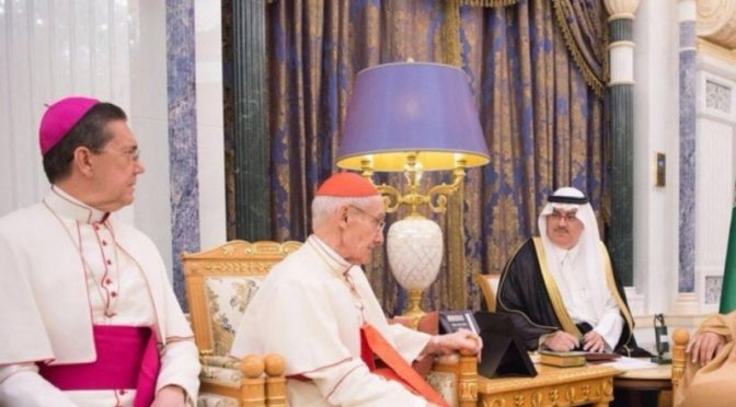 Служитель Двух Святынь принял председателя Папского совета по межрелигиозному диалогу в государстве Ватикан