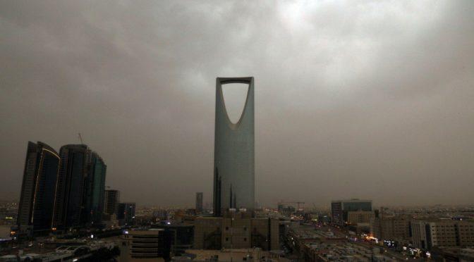 Эр-Рияд: блистающий под дождём