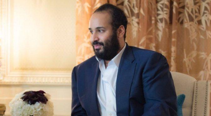 Наследный принц встретился с генеральным директором развлекательной компании Warner Bros