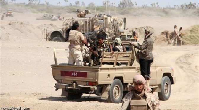 Армия Йемена освобождает горы Залзала в округе Нихм