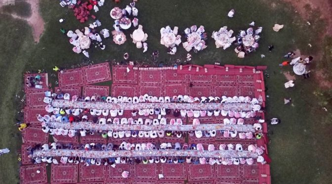 «Друзья Медины» организуют общественный ифтар в Лучезарной Медине»