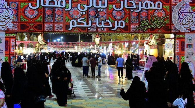 Ночной фестиваль Рамадана продолжается в Унайзе