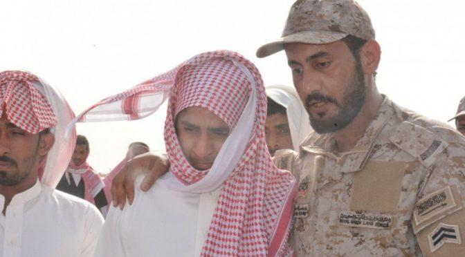 Губернатор округа Самита совершил похоронную молитву по павшему мученником ст.срж.  Али Хамади