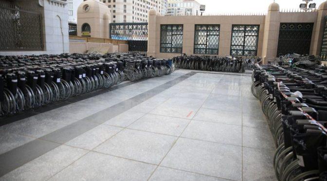Управление по делам Мечети Пророка предоставляет 6 тыс. калясок для лиц с особыми потребностями