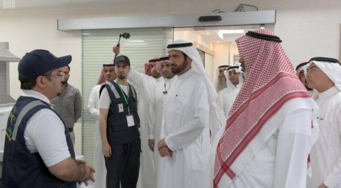 Доктор ар-Рабиа инспектировал Центр кардиологии и кардиохирургии им.принца Фейсала бин Халида в Асире