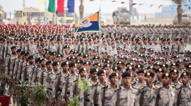 Его Высочество Министр внутренних дел посетил церемонию выпуска 4682 курсантов Пограничных войск