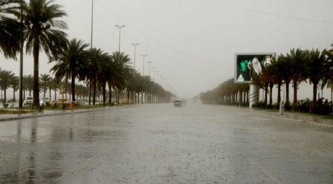 Дожди над провинцией Хаиль