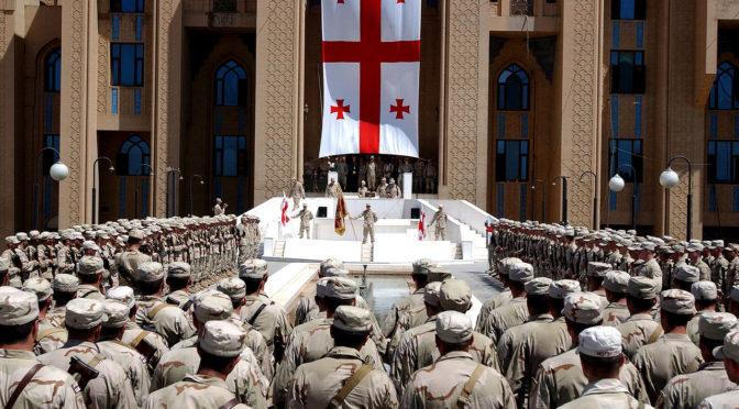 Его Высочество наследный принц поздравил президента Грузии с днём независимости его страны