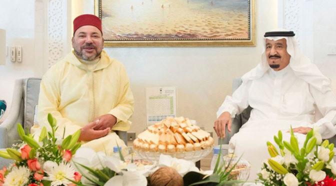 Служитель Двух Святынь и Король Марокко подтвердили важность противостояния иранской агрессии