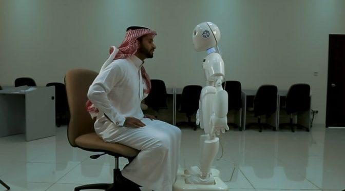 «Мусалам» — созданный в Саудии робот, умеющий говорить по-арабски