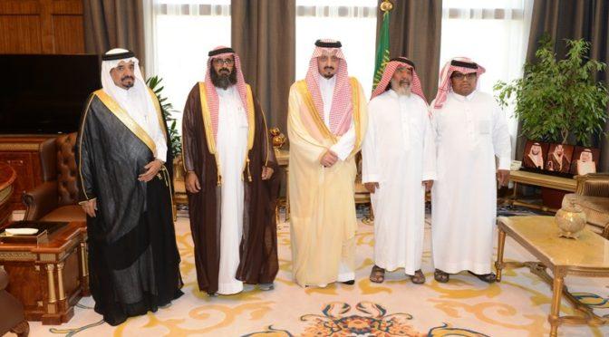 Губернатор провинции Асир принял подданного аль-Кахтани, простившего ради Аллаха убийцу своего сына