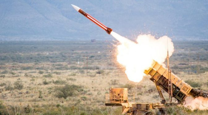 Саудийские силы ПВО  зафиксировали ракету, выпущенную по жилым районам Наджрана