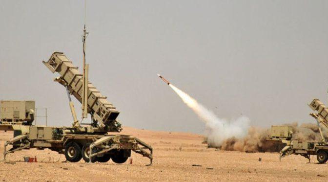 Силы ПВО Саудии перехватили две баллистические ракеты, выпущенные хусиитами в направлении Королевства
