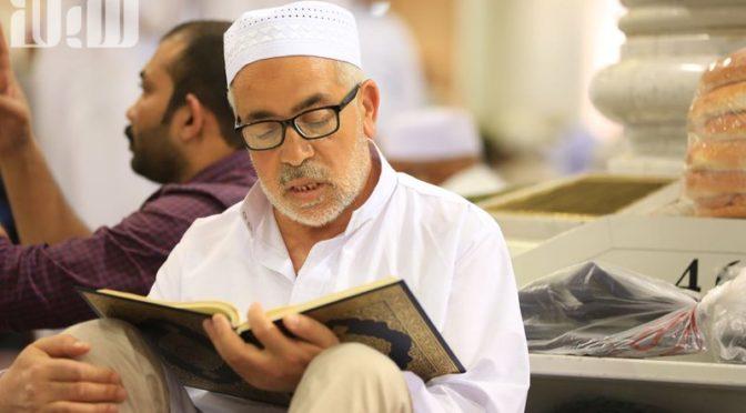 «Сабк» запечатлел занятие посетителей Мечети Пророка чтением Благородного Корана
