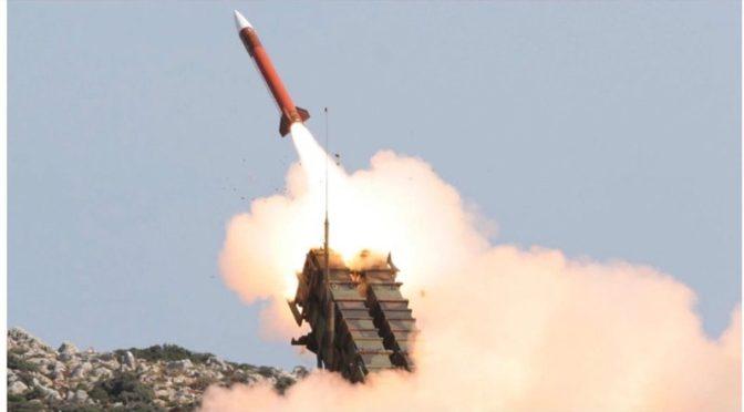 Силы ПВО  перехватили баллистическую ракету, выпущенную по направлению Джазана