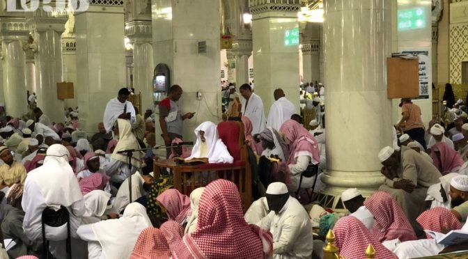 Экскурсия портала «Сабк» обобщает усилия, прилагаемые Королевством в служении паломникам и посетителям Запретной Мечети