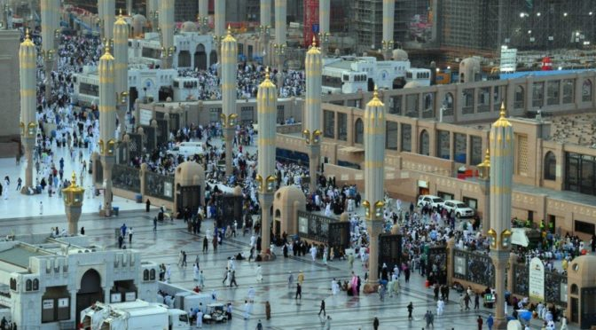 Мечеть Пророка в первый день из дней Рамадана