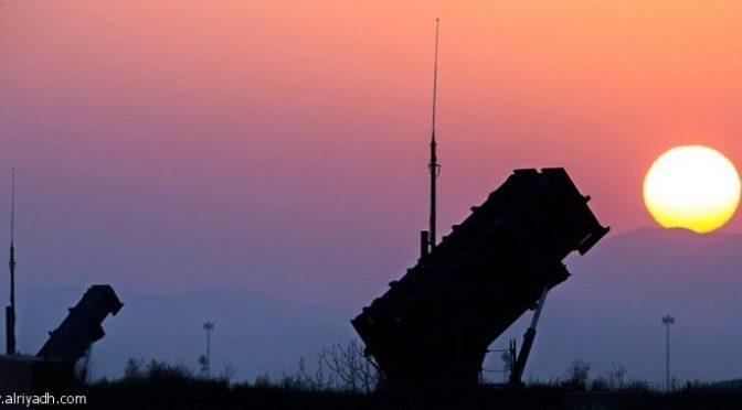 Саудийская ПВО перехватила хусиитскую ракету, выпущенную в направлении Джазана