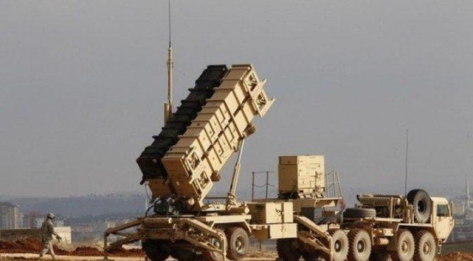 Силы Королевской ПВО перехватили и уничтожили  ракету, выпущенную по направлении Джазана