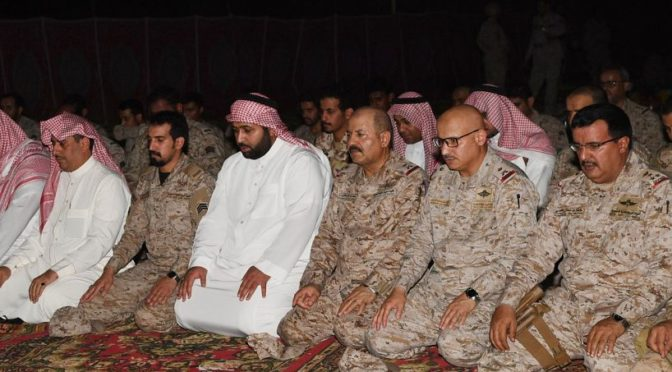 Заместитель губернатора провинции Джазан провёл совместный ифтар с военнослужащими на границе