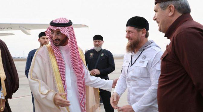 Глава Чеченской республики покинул Джидду
