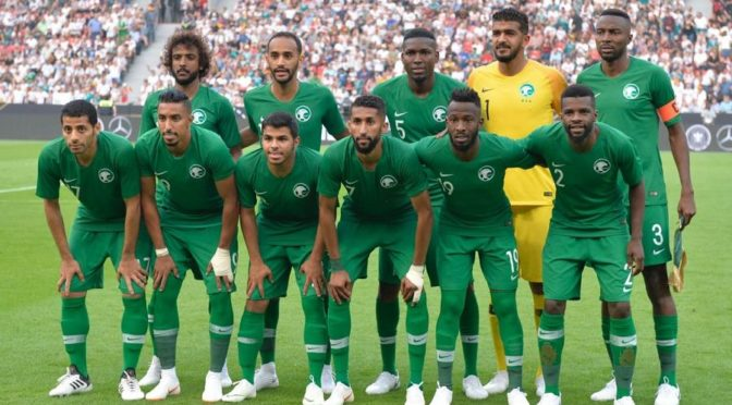 20 миллионов саудийцев следят за  матчем между Саудией  и Россией при открытии чемпионата кубка мира по футболу