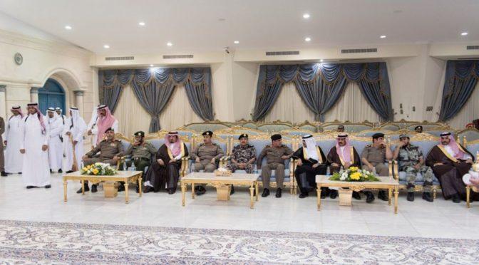 Губернатор провинции Джуф принял подданных и выскопоставленных чиновников