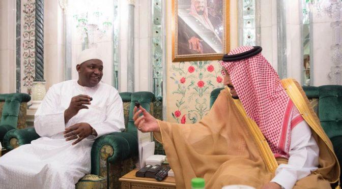 Служитель Двух Святынь провёл переговоры с президентом республики Гамбия