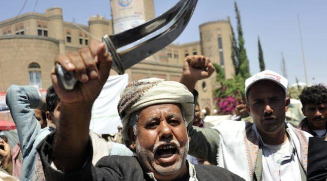 Хусииты отправляют в заканчивающиеся правалом сражения лиц с особыми потребностями