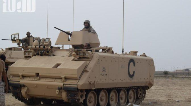 «Сабк» запечатлел саудийских солдат на южной границе