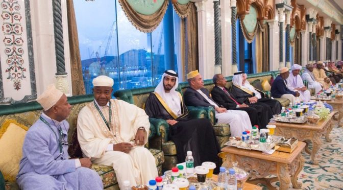 Служитель Двух Святынь принял президентов Комор, Судана, Габона и министра иностранных дел ОАЭ