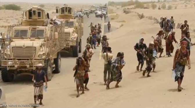 123 хусиита сдались армии Йемена в Ходейде