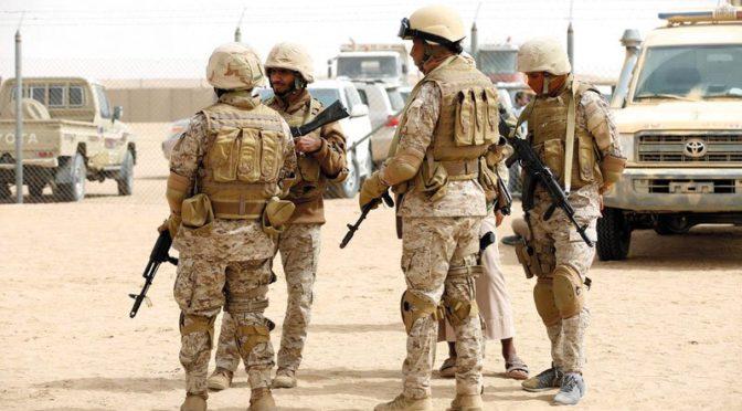 Моменты уничтожения транспортных средств, оружия и командных центров хусиитов в провинции Саада
