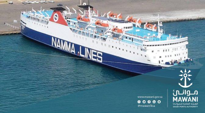 Торговый порт Янбу обработал в течении 24 часов 17 тыс.тонн грузов