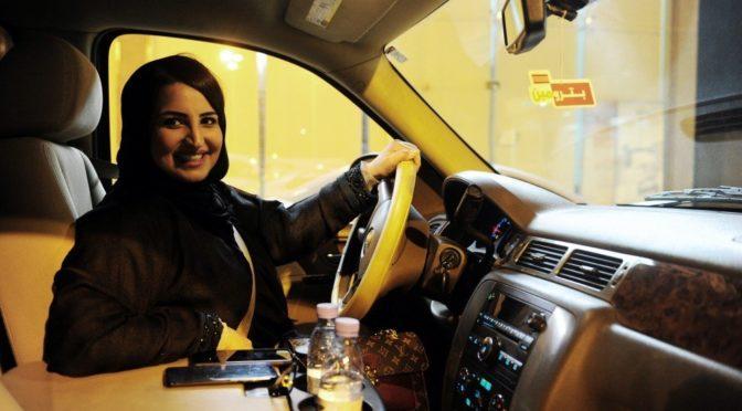 В округе Джидда был фиксирован плавный дорожный поток ввиду вступление в силу решения о разрешении женщинам управлять автомобилем