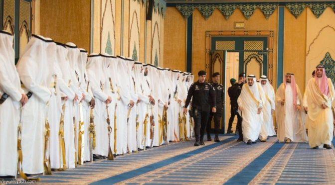 Служитель Двух Святынь принял поздравляющих его с праздником Ид аль-Фитр