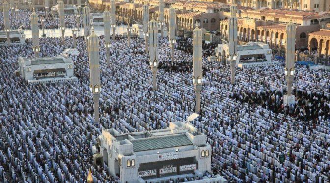 В Королевство из-за рубежа на  вчерашний день прибыло 1 141 138 паломников