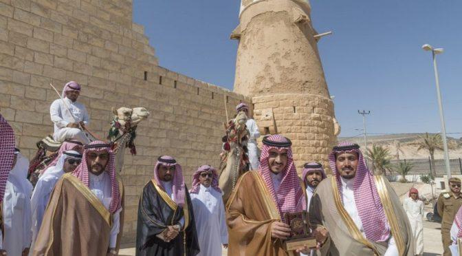 Губернатор провинции Джуф посетил исторические объекты округа аль-Карият