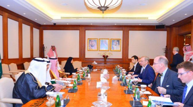 аль-Джубейр принял высокопоставленного советника по политическим вопросам  госсекретаря США