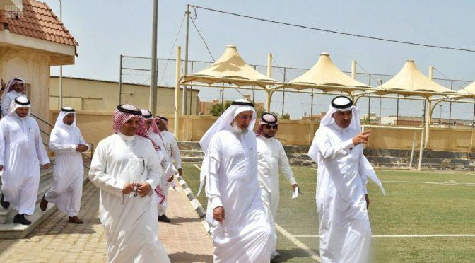 Ректор Университета Умм уль-Кура инспектировал филиал в округе аль-Канфуза