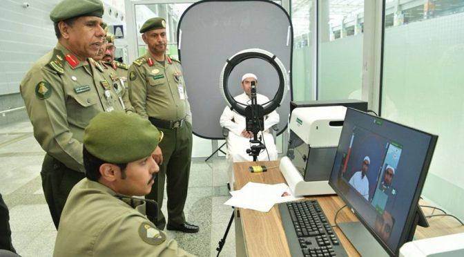 Генерал-майор  Яхъя провёл проверку подготовку виз в зале для приёма паломников Международного аэропорта им.Короля Абдулазиза