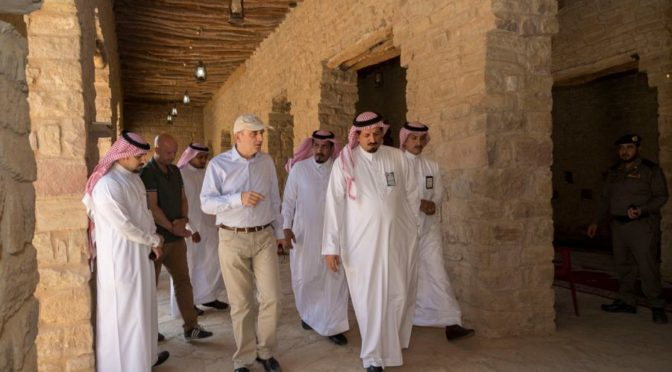 Посол Голландии в Королевстве с похвалой отзвался о исторических и археологических объектах провинции Джуф