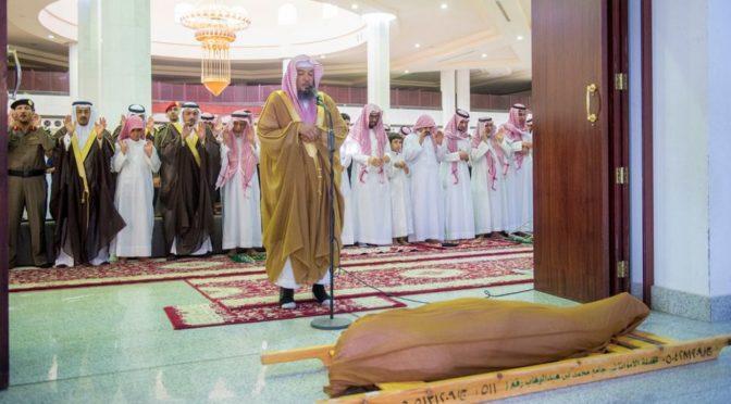 Губернатор провинции Касым совершил похоронную молитву по павшему мученником мл.серж. Сулайману Абдул Латыфу