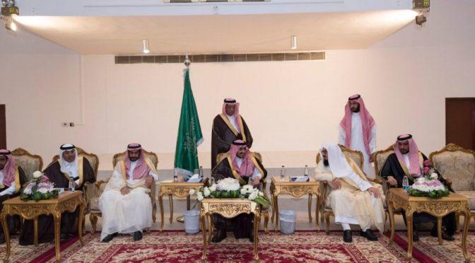 Губернатор провинции Джуф принял подданных и чиновников округа аль-Карият