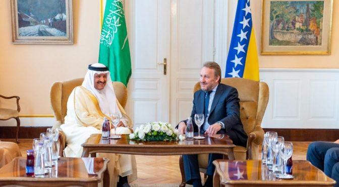 Президент Боснии принял принца Султана бин Салмана