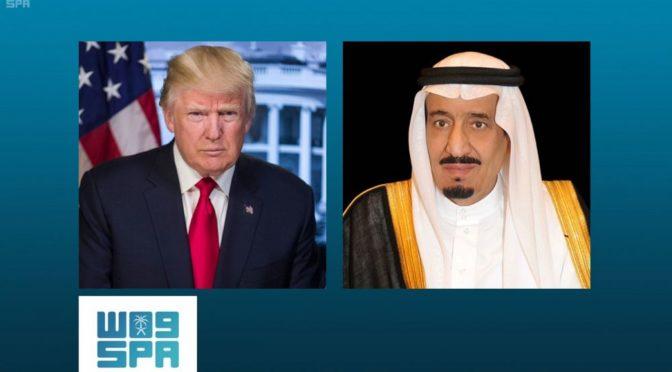 Служитель Двух Святынь и президент США рассмотрели усилия по стабилизации нефтяного рынка