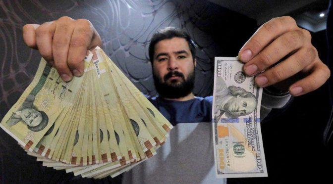 Беспрецедентное падение курса иранского риала: 112 тыс.риалов за 1$