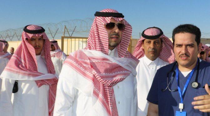 Губернатор Северной пограничной провинции встретил первую партию паломников из Ирака